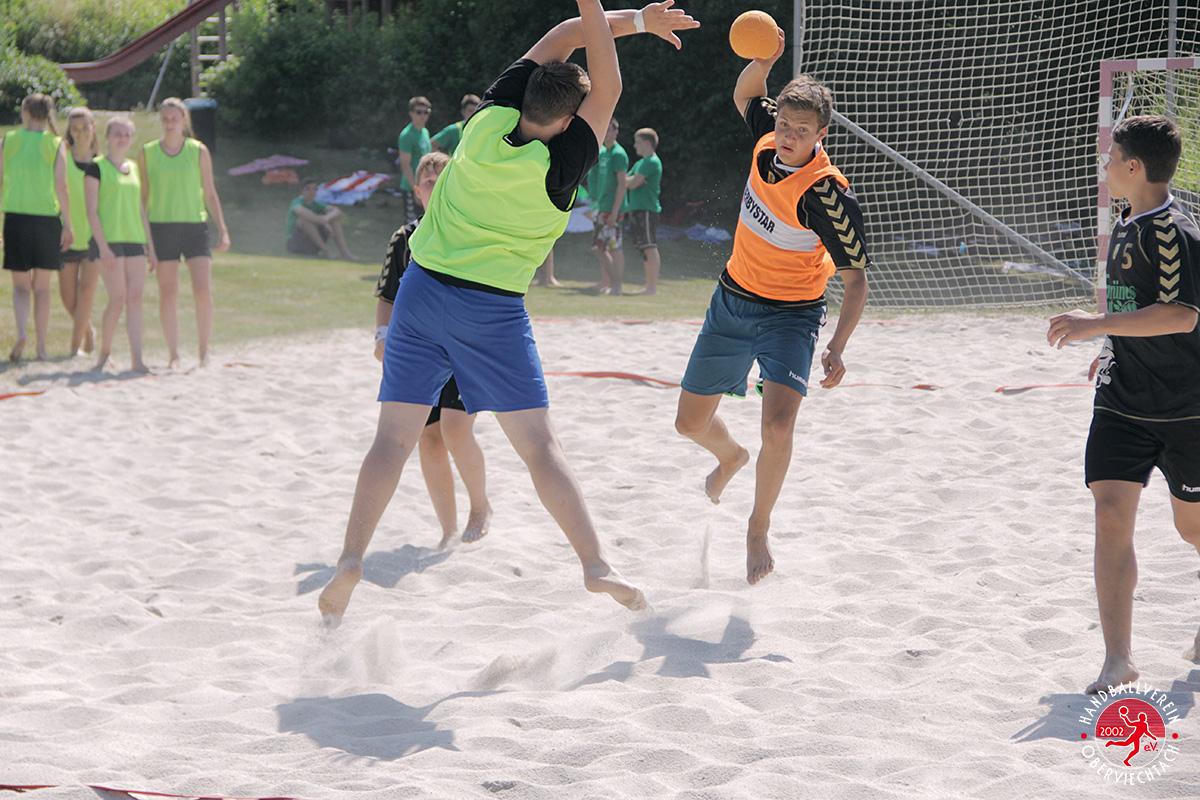 HV Oberviechtach Beachhandball